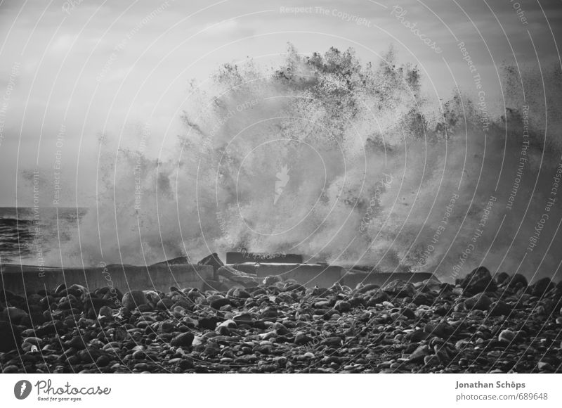 Puerto de la Cruz / Teneriffa X Natur Wasser Meer Strand Umwelt Küste Wellen Insel ästhetisch bedrohlich Wut Flüssigkeit Sturm Aggression Brandung spritzen