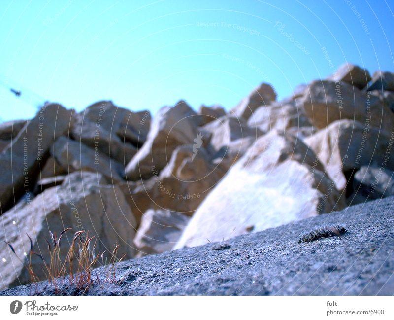 Steine Mauer Klumpen