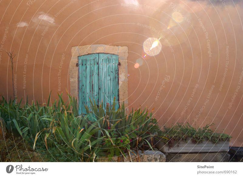 Farben der Provence Natur Haus Architektur Gebäude Tür Häusliches Leben