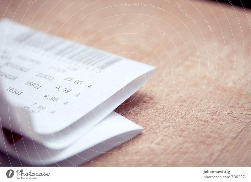 konsum Papier Zettel Holz Business Handel Haushalt Ziffern & Zahlen Zahlungsmittel Kapitalwirtschaft Quittung Rechnungen Barcode kaufen teuer sparen Kontrolle
