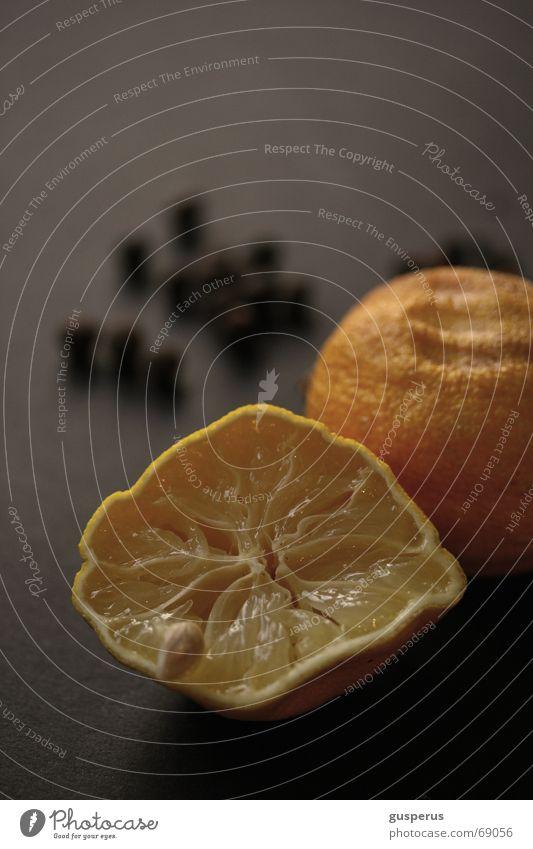 { ausgelutscht } alt Frucht Kräuter & Gewürze reif Zitrone verdorben