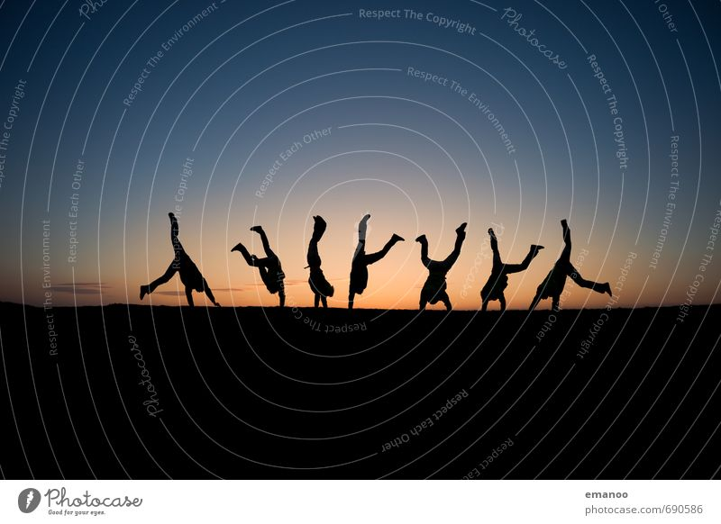 selfie sequence Lifestyle Freude sportlich Leben Freizeit & Hobby Ferien & Urlaub & Reisen Freiheit Sport Sportler Mensch Mann Erwachsene Jugendliche Körper