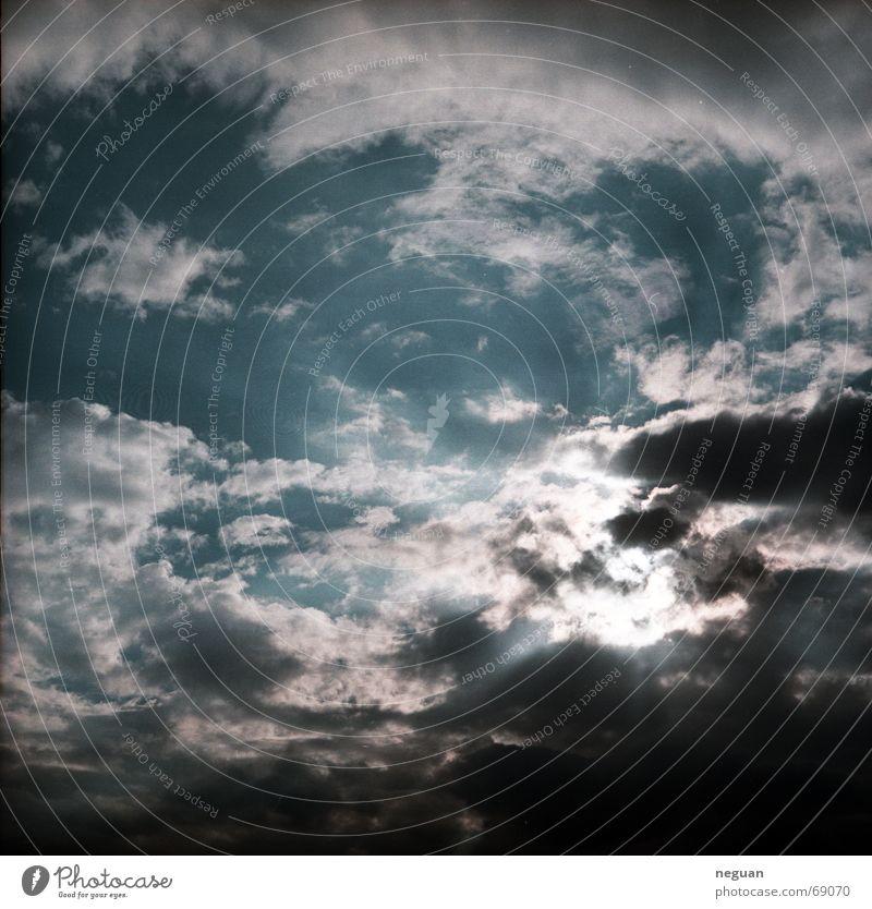 lichtwolken Himmel Sonne Wolken Beleuchtung türkis Licht