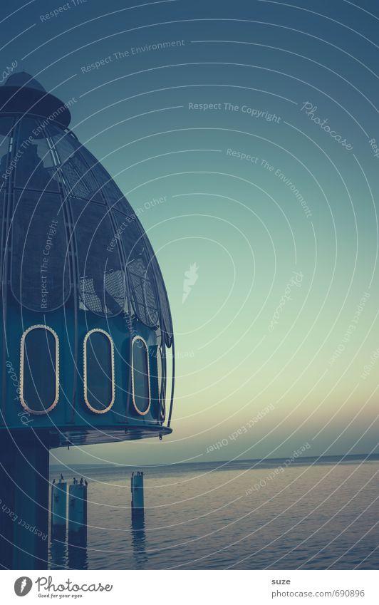 Nachttischlampe Himmel blau Meer Umwelt Architektur Stil Horizont Freizeit & Hobby Wetter Lifestyle Design Abenteuer Bauwerk tauchen Rügen Sightseeing