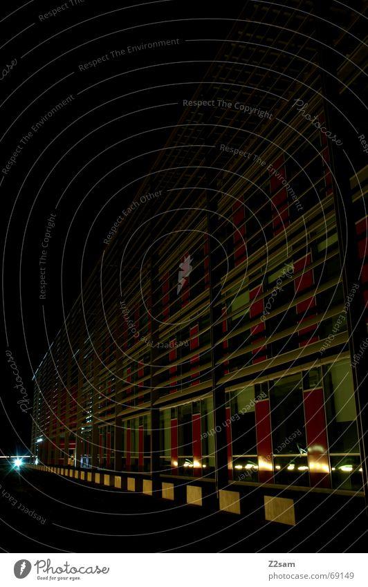 light in the nothing II Licht Haus Reflexion & Spiegelung Fenster rot Platz gelb architecture lightway Wege & Pfade Perspektive blau Stein Architektur