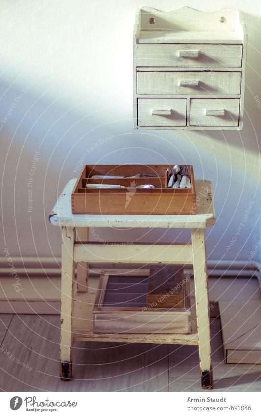 Küchen-Installation alt weiß ruhig Wand Senior Mauer Stil Holz außergewöhnlich Stimmung Metall Lifestyle Design Armut einfach retro