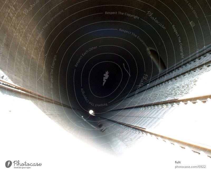 Tunnel Gleise Beton Architektur Stein