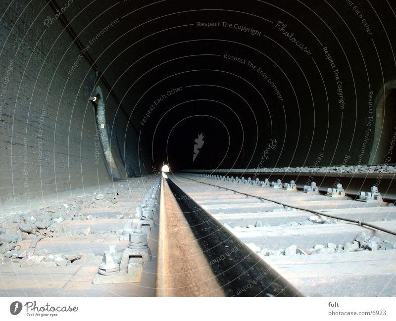 Tunnel Stein Architektur Beton Gleise Tunnel