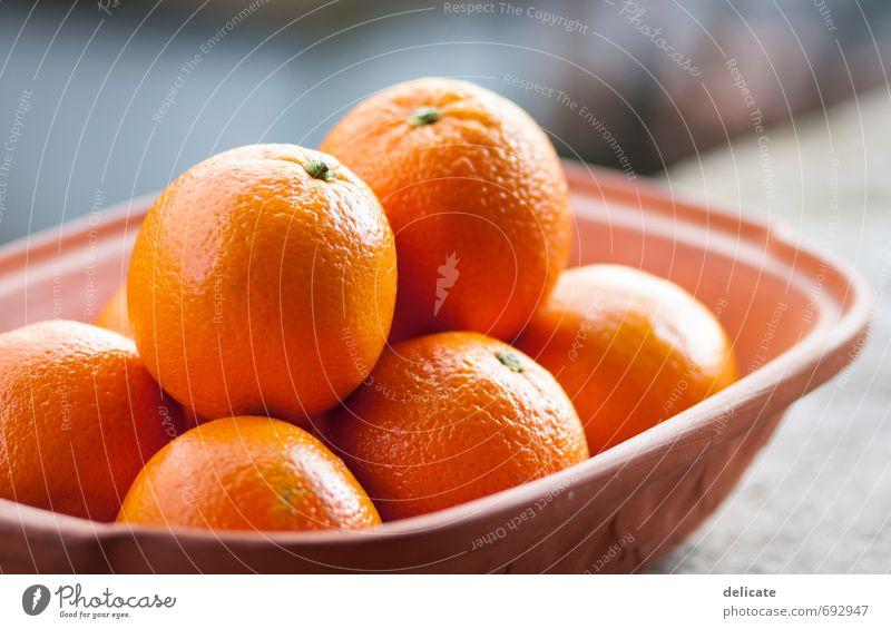 Orangen I Lebensmittel Frucht Ernährung Vegetarische Ernährung Obstkorb Schalen & Schüsseln Gesundheit Gesunde Ernährung Wohlgefühl genießen lecker