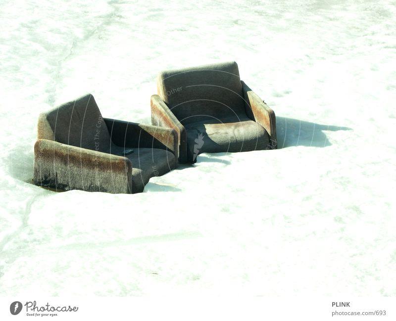 have a seat Sonne Schnee Erholung Eis Finnland Hafen Sessel Fototechnik Helsinki