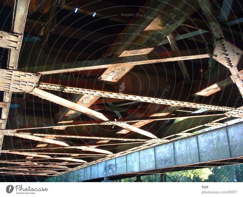 Brücke alt Metall Brücke Stahl