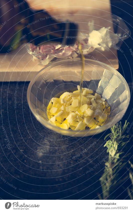 marinade olivenöl, knoblauch, schafskäse, thymian Innenarchitektur Stil Essen Lebensmittel Wohnung Lifestyle elegant Geburtstag Ernährung Kreativität Tisch
