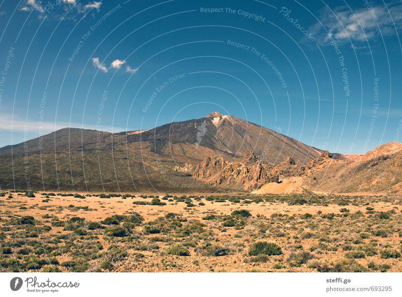 3718 m bis zur Spitze // Teneriffa III Natur Ferien & Urlaub & Reisen Landschaft Ferne Berge u. Gebirge natürlich Freiheit außergewöhnlich Felsen Tourismus