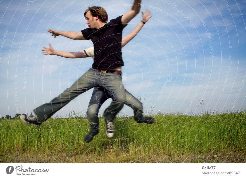 Choreografie springen Hand Tanzen Composing Zusammensein abstrakt Kunst Mensch fliegen Luftverkehr Arme Beine Fuß galle77 Bewegung Gesichtsausdruck
