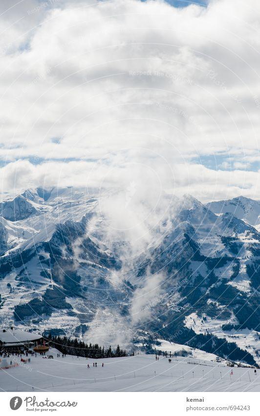 Skizirkus Freizeit & Hobby Ferien & Urlaub & Reisen Tourismus Ausflug Ferne Freiheit Winter Schnee Winterurlaub Berge u. Gebirge wandern Skifahren Umwelt Natur