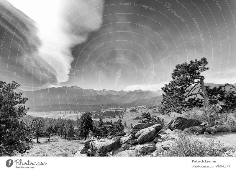 13000ft / 5 Ferien & Urlaub & Reisen Tourismus Ausflug Abenteuer Umwelt Natur Landschaft Urelemente Erde Himmel Wolken Sommer Klima Klimawandel Wetter