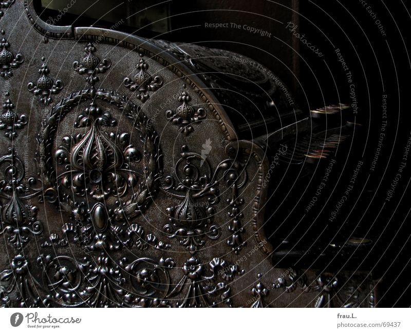 Apotheker-Kasse Antiquität dreckig staubig Ornament Muster reich bezahlen einnehmen Ware Ladengeschäft Gastronomie Dinge Elektrisches Gerät