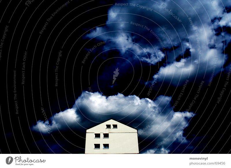Our House blau Fenster Erfolg 6 Provinz