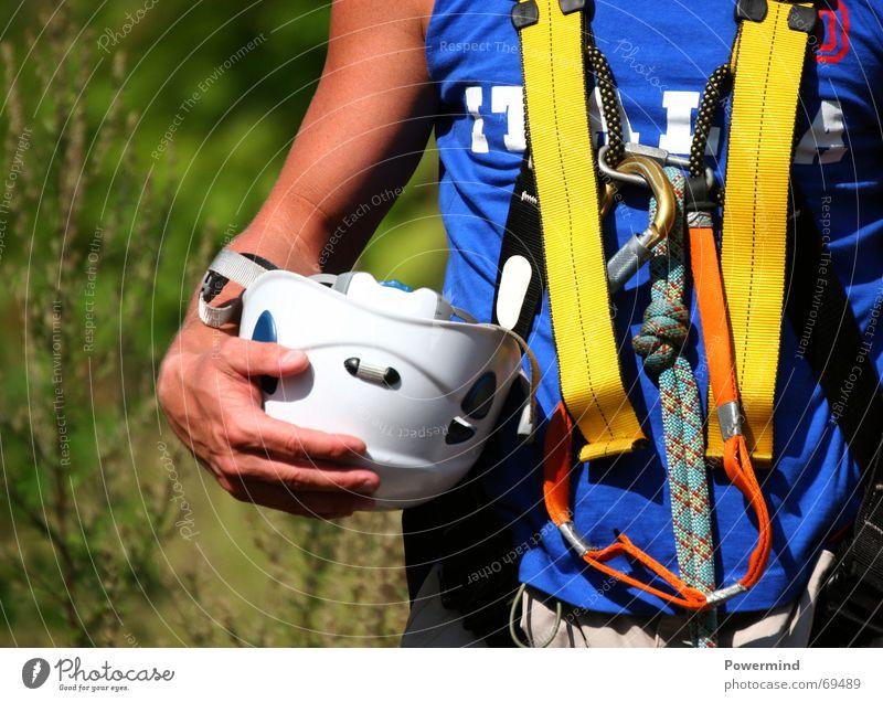 Climbing Sport Sicherheit Freizeit & Hobby Klettern Helm Bergsteiger Haken Gurt Schutzhelm Schutzausrüstung