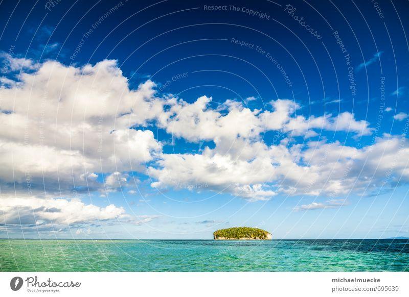 Raja Ampat, Indonesia Himmel Natur Ferien & Urlaub & Reisen blau schön Wasser Sommer Meer Landschaft Wolken Insel Schönes Wetter Ausflug Asien türkis Fernweh