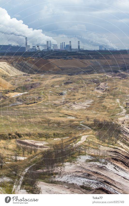 Garzweiler 3 Natur Landschaft Umwelt Sand Erde Kraft Energiewirtschaft Klima Urelemente Technik & Technologie Industrie Hügel Maschine Klimawandel