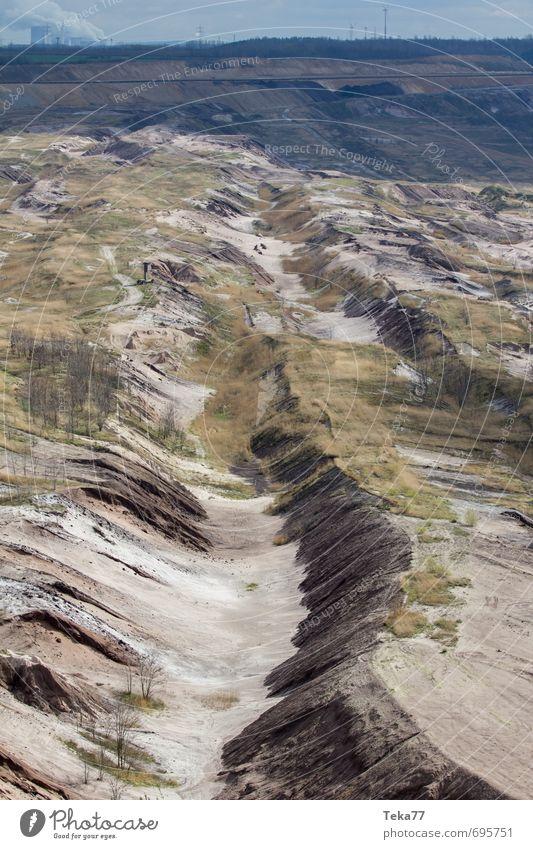 Garzweiler 2 Natur Pflanze Landschaft Umwelt Sand Erde Kraft Energiewirtschaft Klima Urelemente Technik & Technologie Maschine Klimawandel egoistisch Hemmungslosigkeit Energiekrise