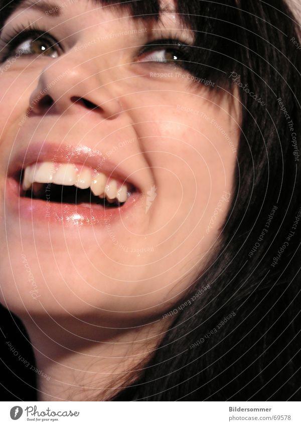 Smile Gesicht Auge lachen Mund