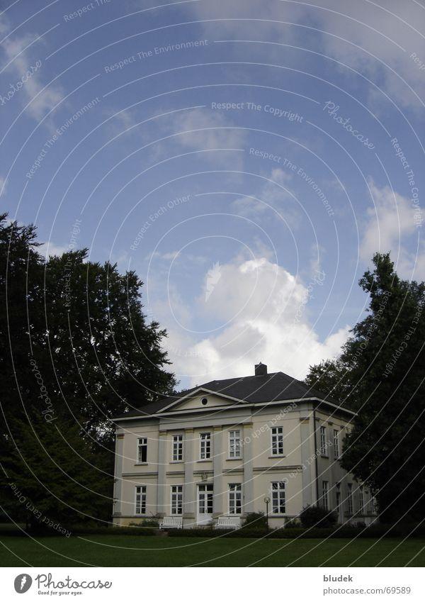 Egestorff-Villa Gutshaus Bremen Wolken Gebäude Osterholz 1857 Architektur