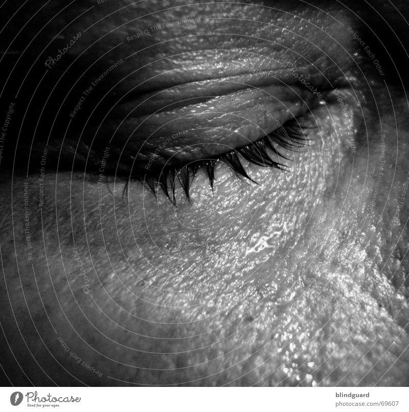 Männer weinen leise Mensch Mann ruhig Erwachsene Auge Leben Traurigkeit Gefühle Angst Haut Trauer Leidenschaft Schmerz Verzweiflung Sorge feucht