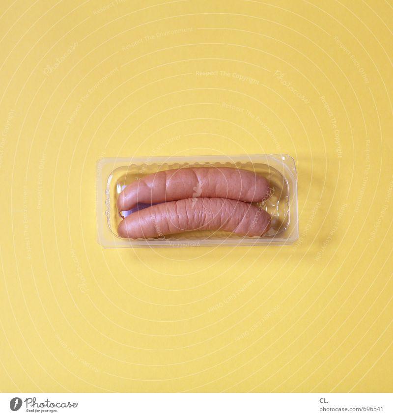 löffelchen gelb Gesunde Ernährung Essen Lebensmittel ästhetisch kaufen Zusammenhalt lecker Übergewicht skurril Schalen & Schüsseln Fleisch Diät Wurstwaren