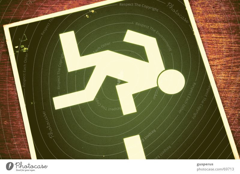 { this way } Wege & Pfade gehen Flucht verloren