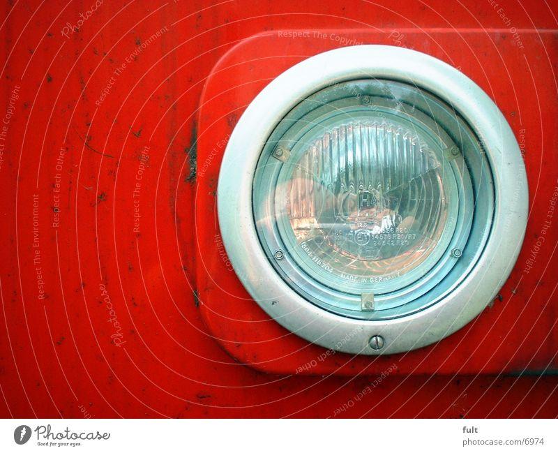 scheinwerfer rot Metall Glas Technik & Technologie Elektrisches Gerät