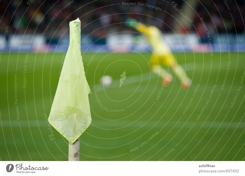 sportlich | los, alle nach vorne! Sport Ballsport Sportler Sportmannschaft Torwart Publikum Fan Tribüne Sportveranstaltung Pokal Fußball Sportstätten