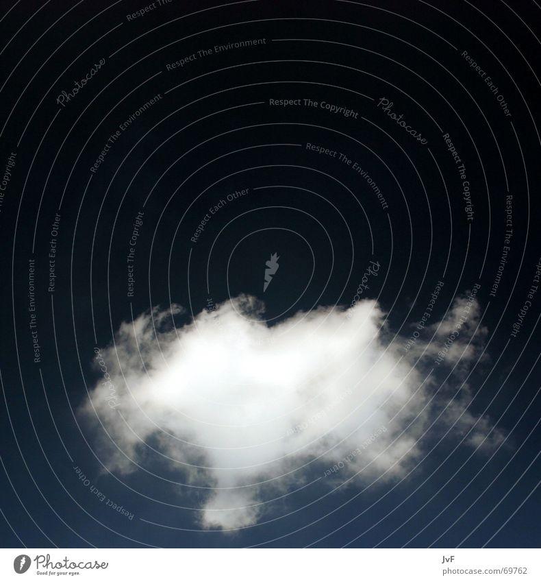 was nützt die liebe in gedanken? Himmel weiß blau Wolken Freiheit Glück träumen Herz Horizont leicht Gedanke Schweben Leichtigkeit Symbole & Metaphern