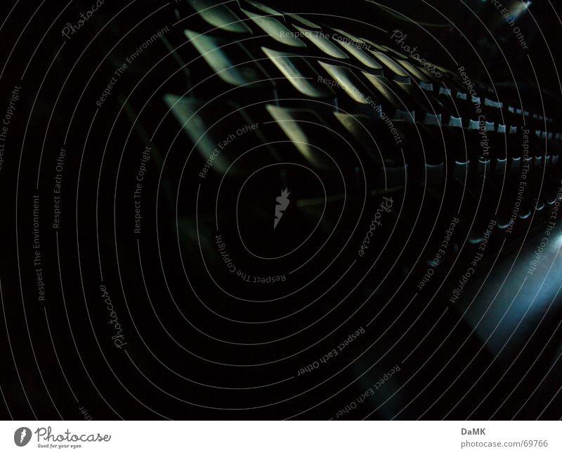 Lange Nacht vor dem PC schwarz dunkel Computer Symbole & Metaphern geheimnisvoll Tastatur Taste Informationstechnologie Hacker