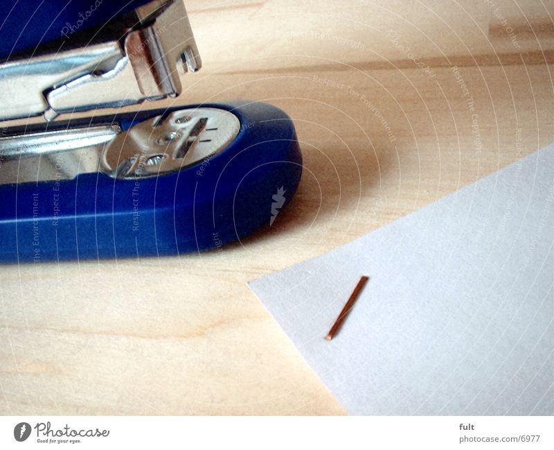 Tacker Heftklammerer Klammer Papier Kunststoff
