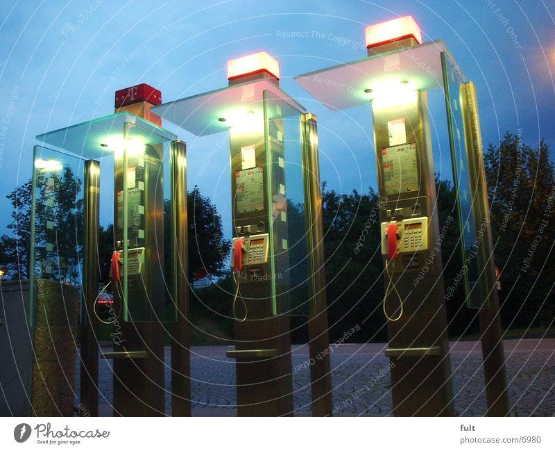 Telefone Glas Telekommunikation Telefonzelle