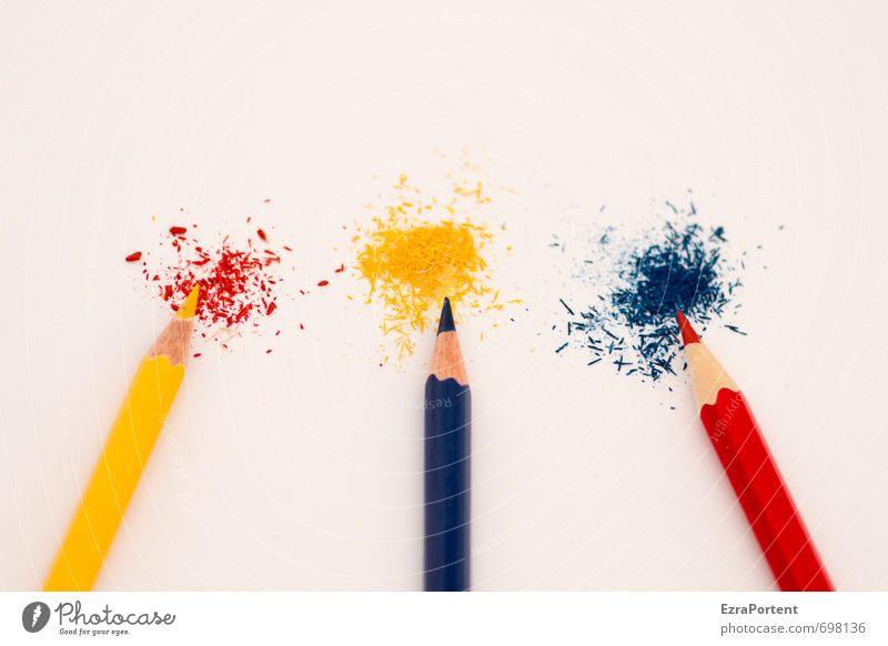 YrByRb blau schön Farbe weiß rot gelb Stil natürlich Linie Schule Zusammensein Büro Design ästhetisch Spitze malen