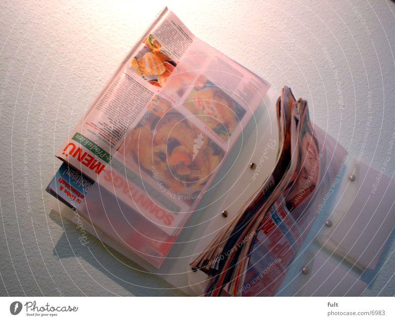 Wandzeitunghalter Regal Zeitschrifen Halter
