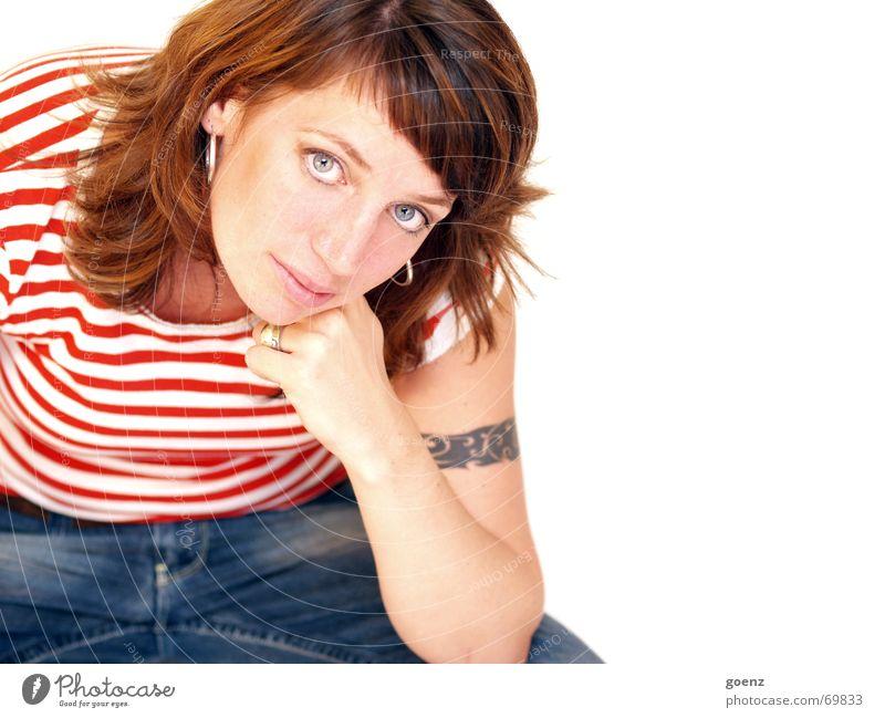 Portrait Frau Porträt Dame babe Tattoo