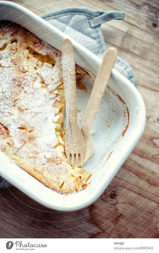 gepudert Ernährung süß Süßwaren lecker Kuchen Schalen & Schüsseln Dessert Besteck Löffel Gabel Slowfood