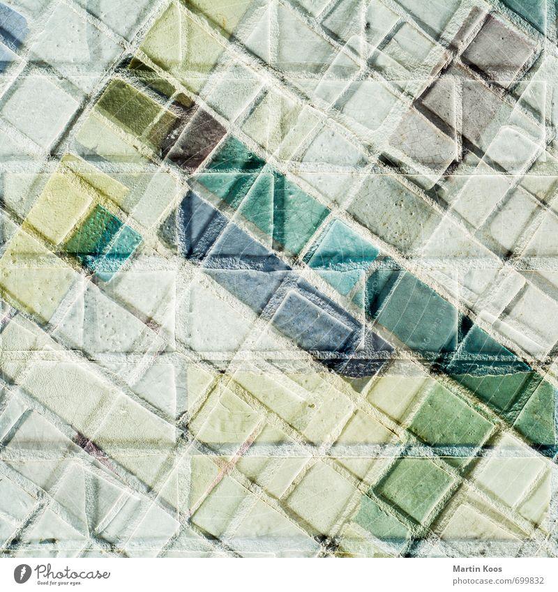 scepsis Mauer Wand Fassade Stein ästhetisch eckig Ewigkeit Farbe komplex modern Perspektive Surrealismus träumen Irritation Verzweiflung Wandel & Veränderung