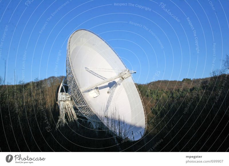 Radioteleskop Effelsberg Luftverkehr Zukunft Technik & Technologie Telekommunikation Unendlichkeit Industrie Weltall Wissenschaften Informationstechnologie