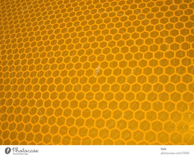 300 Waben gelb Stil orange Fototechnik Bienenwaben