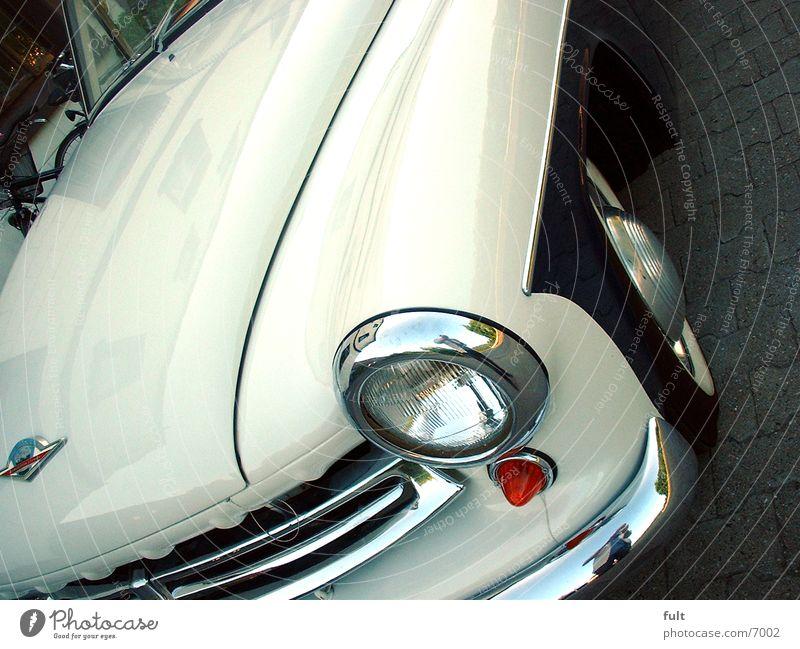 Oldtimer Verkehr Fahrzeug Blech Lack