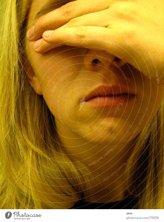 gelb 6 Hand Haare & Frisuren Mund Nase Bad T-Shirt Fliesen u. Kacheln Hals Kinn stumm