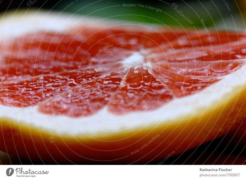 Vitamine - Grapefruit Lebensmittel Frucht Gesundheit Natur Essen Pflanze Zitrusfrüchte Südfrüchte Fruchtfleisch Hülle rot gelb orange weiß Ernährung saftig