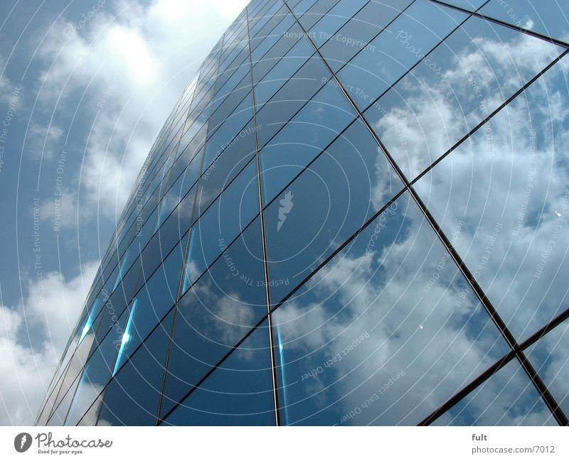 Spiegelfassade Himmel Architektur Glas Fassade