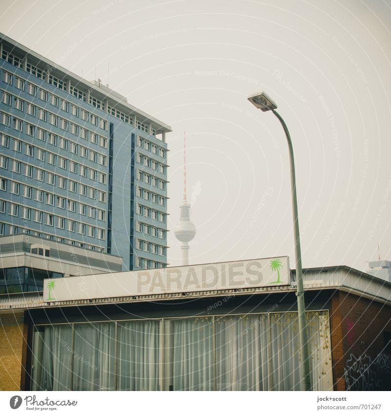 Nirwana Stil Grafik u. Illustration Himmel Berlin-Mitte Stadtzentrum Ladengeschäft Wahrzeichen Berliner Fernsehturm Dekoration & Verzierung Leuchtkasten