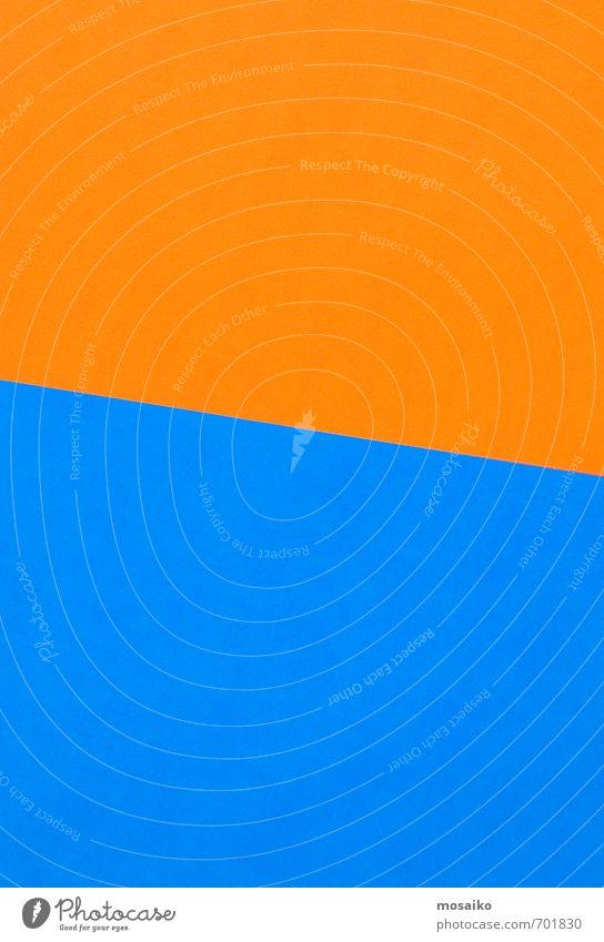 Papierbögen blau Stil Hintergrundbild Lifestyle Mode Business orange Design Büro Schilder & Markierungen verrückt Kommunizieren Hinweisschild sportlich